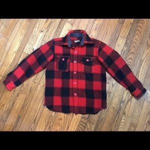 Vintage Eddie Bauer Buffalo Check Wool Jacket